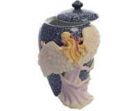 Urn Angels Embrace Hand Painted Mini Urn ( 0.15 liter )