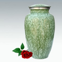 Urn Klassiek Groen Marmer Light