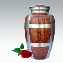 Urn Klassiek Dark Brown Marmer