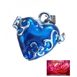 Asmedaillon Memory Box Blauw Design